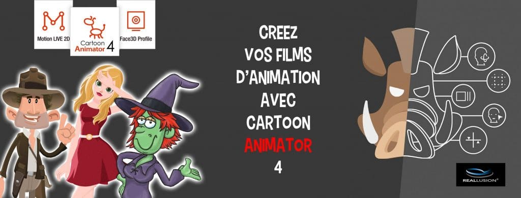 Cartoon Animator 4 FACEBOOK